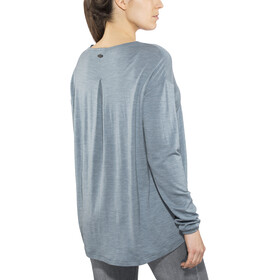 Alchemy Equipment 180GSM Relaxed Maglia Merino Donna, smokey blue marle